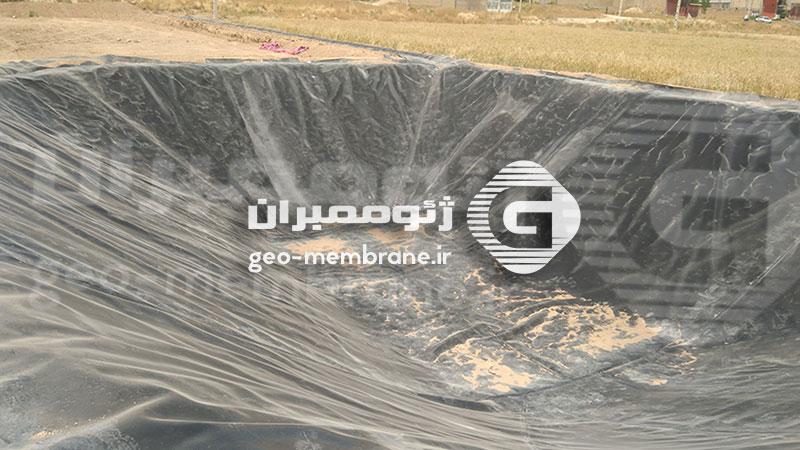 پروژه ساخت استخر پلیمری در بیضا روستای علی آباد