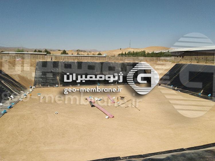 نصب ورق ژئوممبران استان فارس