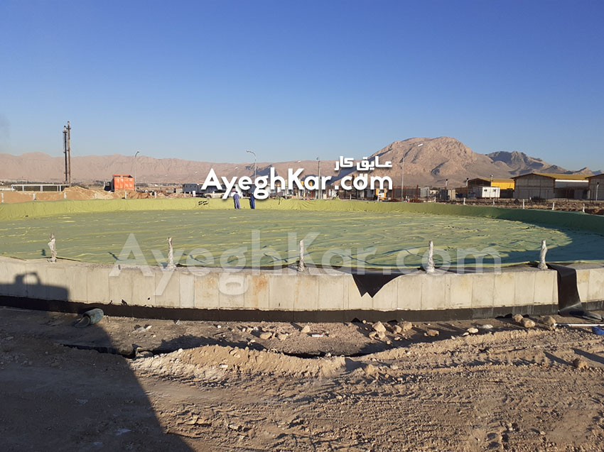 ایزولاسیون مخازن نفتی پالایشگاه نفت شیراز
