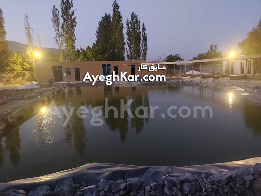 برکه مصنوعی استان مرکزی شهرستان خمین